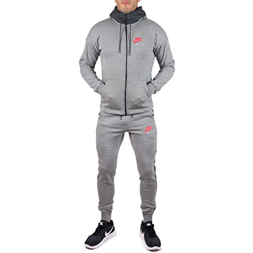 Nike Herren Trainingsanzug Grau grau Gr. Medium, grau