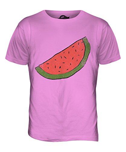 CandyMix Melonenscheibe Herren T Shirt Rosa