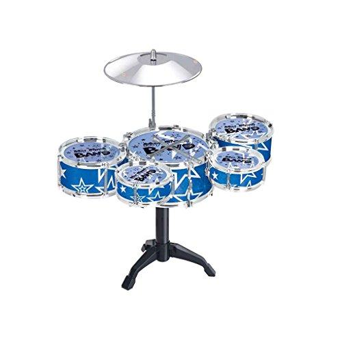 Aiming Mädchen Jungen Praxis Übung Toy Drum Set Kinder Rhythmusinstrument Musical frühen Kindheit Spielzeug Spielset (Jungen-drum-set)