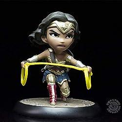 Quantum Mechanix Figura QFIG DC Comics Wonder Woman Color Multi Colour Estándar DCC-0604