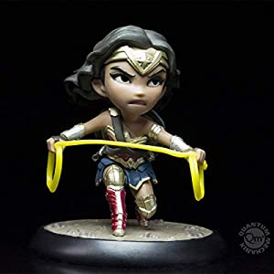 Quantum Mechanix- Figura QFIG DC Comics Wonder Woman, Color Multi Colour, Estándar (DCC-0604)