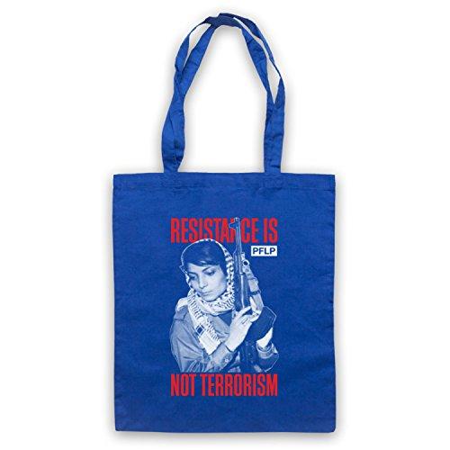 Leila Khaled Resistance Umhangetaschen Blau