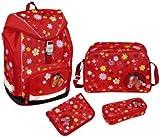 Set mochila escolar scooli twixter Horses 4piezas, 21L poliéster