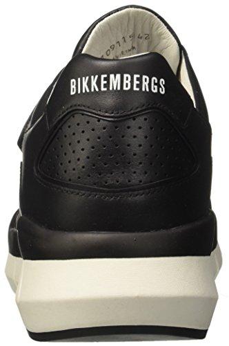 BIKKEMBERGS Nero Herren Sneaker 2092 Fighter Black 8qgw0Ox8