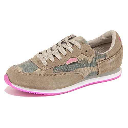 8033N sneaker ROXY beige verde scarpe donna shoes women [38 EU-5 UK]