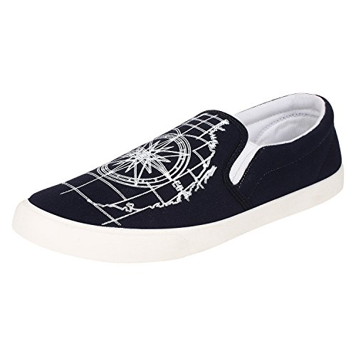 Earton Men/Boys Blue-461 Loafers & Moccasins (9 UK)  available at amazon for Rs.198