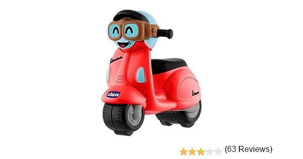 rouge Chicco 00009625000000/Vespa Mini voitures de course turbo Touch
