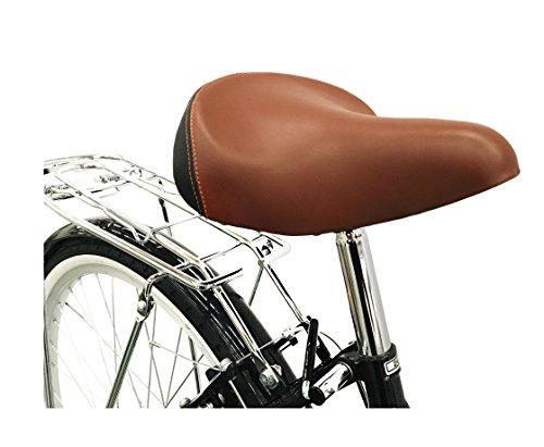 Ladies Girls Spring Dutch Style Bike Bicycles 6 Speeds with Warranty Lightweight (Black)