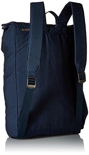 Fjällräven - Zaino ripiegabile Num. 1, Unisex, Zaino, Tasche Foldsack No.1, Black, Taglia unica blu navy