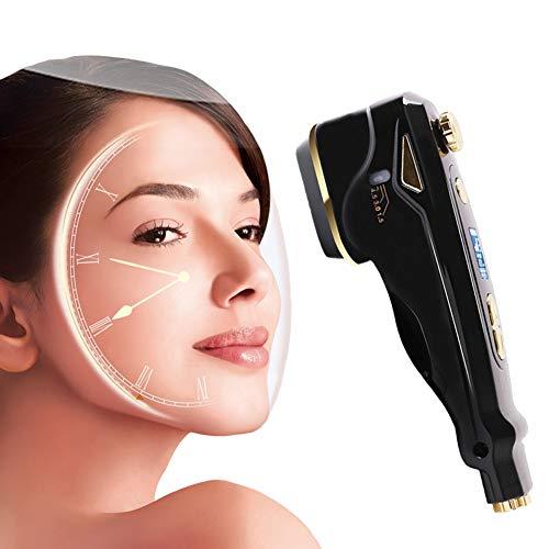 Dispositivo de Belleza Ultrasónico Masajeador Facial Eliminar las Arrugas de la piel Salón De Portátil De Mano En Casa Anti-Edad para