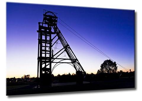 Bild auf Leinwand Gold Mine Größe: 60cm x 90cm |
