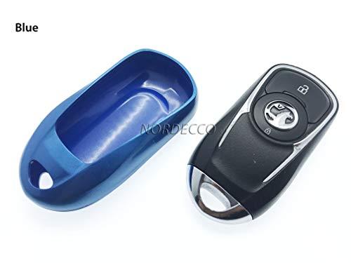 Protex Glänzende Hartschalen-Schlüsselhülle für Schlüsselanhänger Opel Vauxhall Insignia MK 2 Insignia 2017 2018 B Mark 2 Smart Schlüsselanhänger Grand Sport -