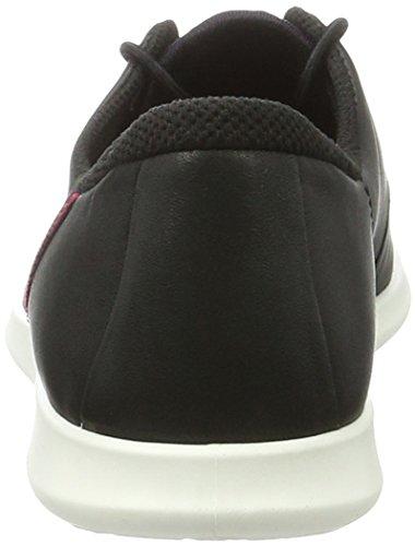 Ecco Ecco Sense, Sneakers basses femme Schwarz (50481BLACK/BLACK/BLACK-WHITE/WHITE)