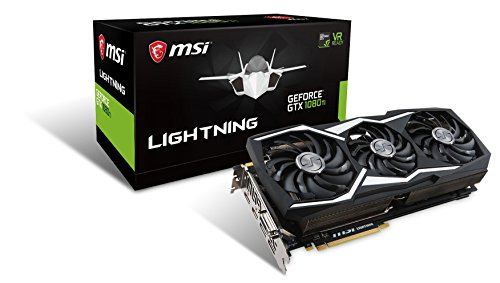 Preisvergleich Produktbild MSI GeForce GTX 1080 Ti Lightning Z, 11264 MB GDDR5X