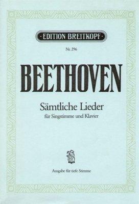 Partition : Sämtliche Lieder - Singstim...
