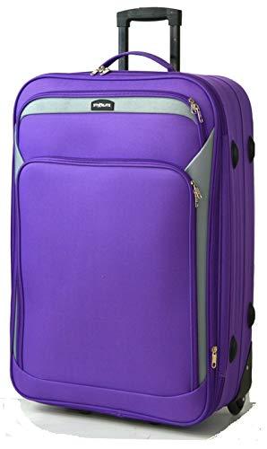 Rockland Leopard (DK Luggage ,  Unisex-Erwachsene Koffer violett 81,3 cm (32 zoll))