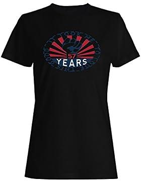 Me tomó 57 años para mirar este buen puño de hierro camiseta de las mujeres ll90f