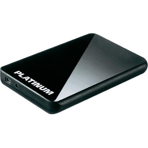 Platinum MyDrive CP 500GB  externe Festplatte (6,4 cm (2,5 Zoll), 5400rpm, USB 2.0) schwarz