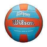 Wilson Super Soft Play Volleyball (Orange/Blau) WTH90119XB