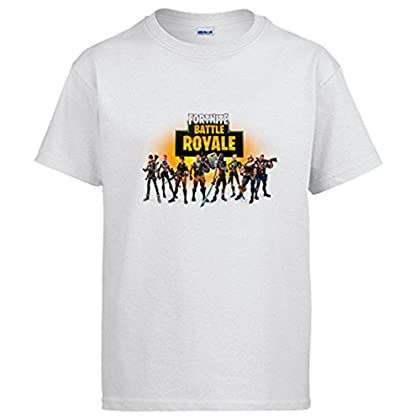 Camiseta Fortnite Battle Royale - Blanco, 12-14 Años