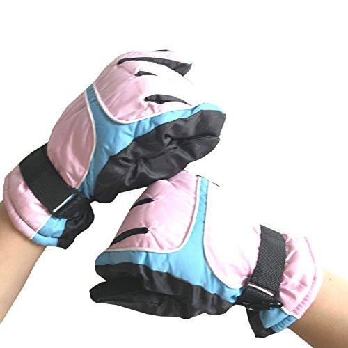 JIAJIA - Gants - Homme Taille Unique Pink Finger