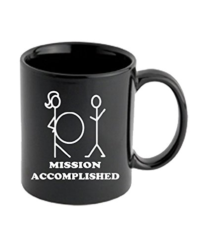T-Shirtshock - Tazza 11oz TB0005 mission accomplished, Taglia 11oz - T-shirt Mission Accomplished