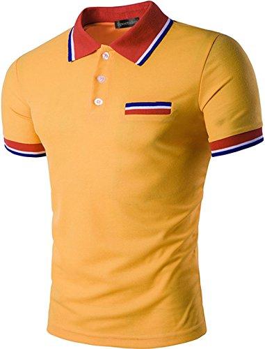 Sportides - Polo - Homme - JZA032 Orange M