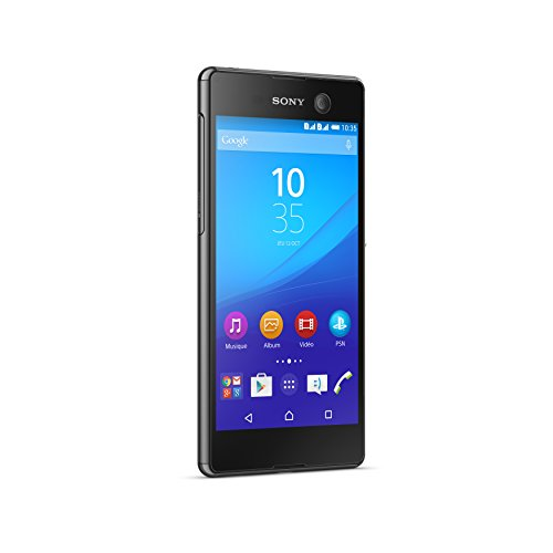 Sony E5633/S50/1301-9558 Xperia M5 Smartphone (16GB, Festnetz 4G, Display 12,7 cm (5 Zoll) Full HD) schwarz