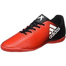 adidas X 16.4 IN J - Botas de fútbolpara niños, Rojo - (Rojo/