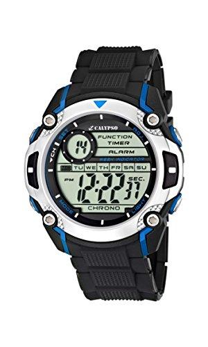 Calypso Jungen Digital Quarz Uhr mit Plastik Armband K5577/2