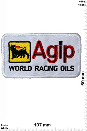 patches-agip-world-racing-oils-white-motorsport-ralley-car-motorbike-iron-on-patch-applique-embroide