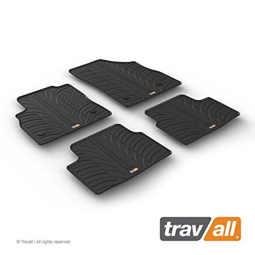 Travall Mats Gummifußmatten TRM1237 - Allwettermatten nach Maß Fussmatten Set