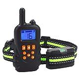 800 mt Elektrische Hundehalsband Anti Bellen Wasserdicht Wiederaufladbare Fernbedienung Haustier Hundehalsband Vibration Shock Kragen