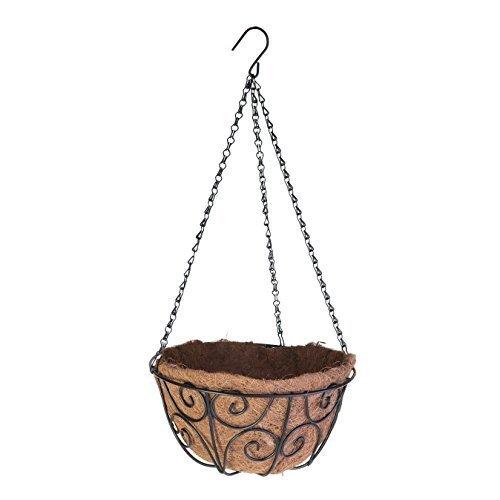 Panacea Panier à Suspendre avec Fibre de Coco de défilement, 30,5 cm
