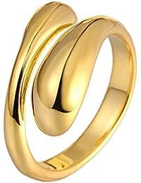 Mes-Bijoux-Bracelets Bague d anniversaire Doré Or Jaune 750 000 18ct Cadeau  Femme Bijou Fantaisie Haut de Gamme Femme Jaune Taille 56 wz… 7b3671a370ed