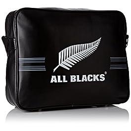 All Blacks 153all205arl Tracolla Unisex Bambino, Nero/Bianco