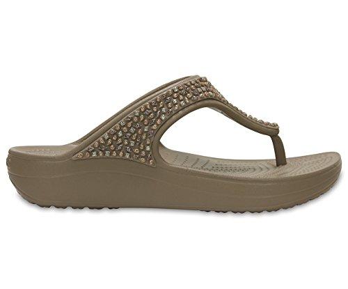 Crocs Sloane femmes flip Agrémentée Mushroom