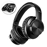 Bluetooth Kopfhörer Over-Ear, BAONUOR Bluetooth 5.0 Kopfhörer, HiFi Sound, Kabelloser Kopfhörer mit Mikrofon, TF Karte Slot, 30 Std. Wiedergabe, für Handy, Tablets und PC