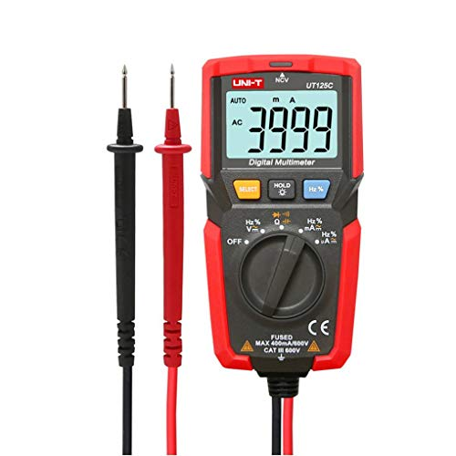 Bomcomi Mini-LCD-Digital-Multimeter DC/AC-Spannung Stromzähler NCV Kapazität Widerstand Dioden-Tester