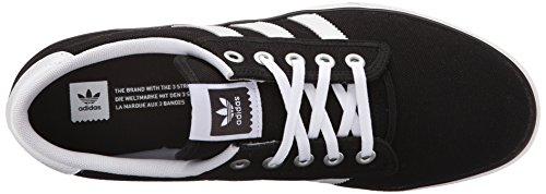 Adidas Performance Kiel Skate Shoe, collégial marine / blanc / carbone gris, 3,5 M nous Black/White/Carbon Grey