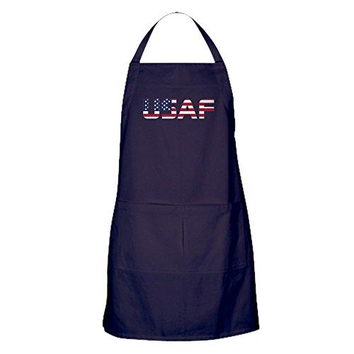CafePress–USAF American Flagge–Küche Schürze mit Taschen (Usaf-flagge)