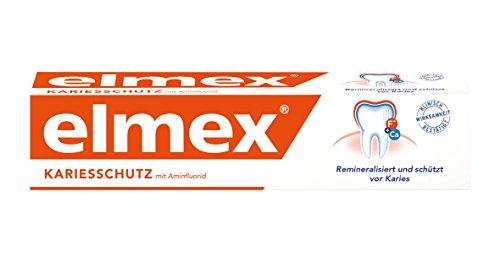 Elmex Zahncreme Kariesschutz mit Aminflourid, 75 ml