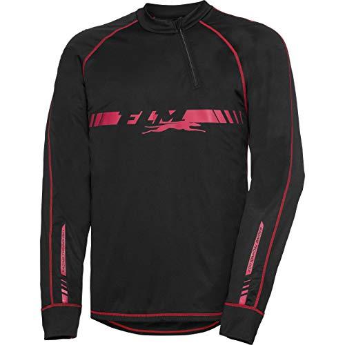FLM Langarmshirt, Funktionsshirt Funktionsshirt mit Stormproof Membran 1.0 schwarz XL, Unisex, Multipurpose, Ganzjährig, Textil (Cruiser Bike Shirts)