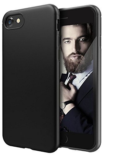 c63r-iphone-5-case-protective-matte-black-slim-fit-flexible-tpu-bumper-cover-also-fits-5s-and-se