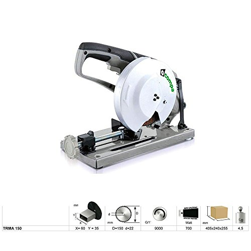 COMPA TECH TRMA 150 ABRASIVE SAW - SIERRA CIRCULAR (ABRASIVE SAW  COLOR BLANCO)