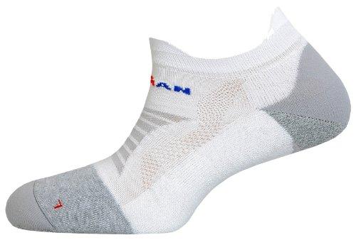 Spenco Ironman Pro Running Low Socke L weiß/blau -