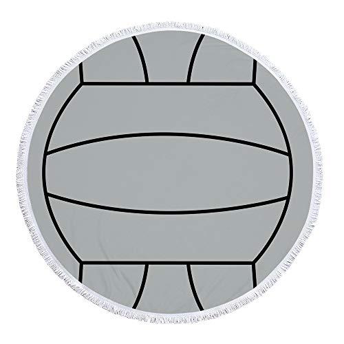 Stranddecke wasserdichte, Sandabweisende Campingdecke Ultraleicht kompakt Wasserdicht und sandabweisend,Druck A-2 300 g 150 cm Polyester-Material