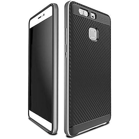 Huawei P9 Custodia, Vikoo Ultra Sottile Peso Leggero Back Shell Protettiva Cover per Huawei P9 Smartphone Case - Argento