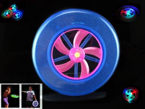 Bleu LED Glow in the Dark Frisbee