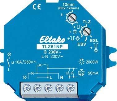 Preisvergleich Produktbild Eltako elektronischer Treppenlichtschalter UP TLZ61NP-230V